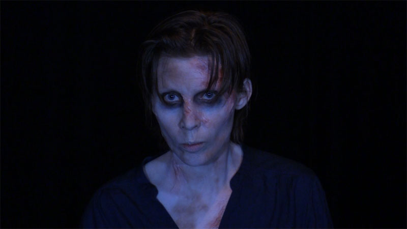 "Anneli Curnock portrays ""The Creature"" from Mary Shelley's Frankenstein"